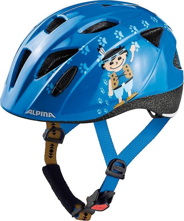 Casque de vélo enfant Alpina Ximo     bleu indien