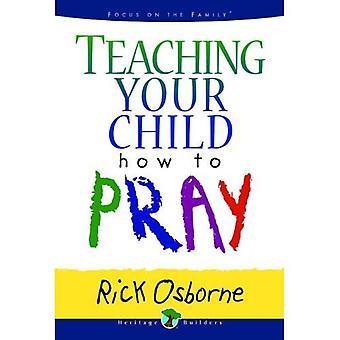 Enseigner à votre enfant comment prier