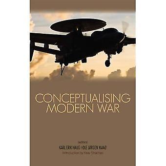 Conceptualisation de guerre moderne