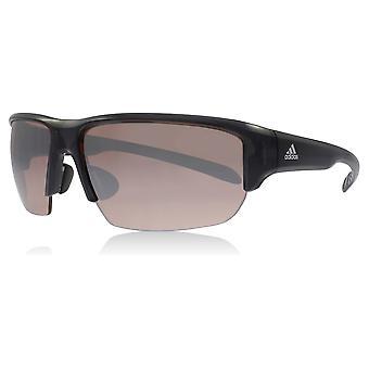 Adidas A421 6050 Grey Transparent Kumacross Half Rim Wrap Sunglasses Lens Category 3 Size 60mm