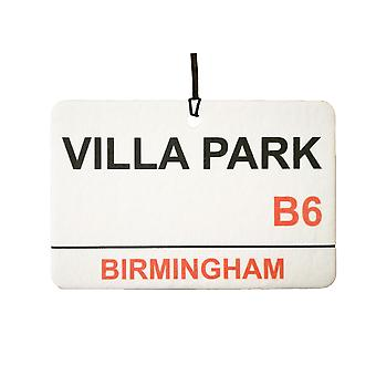 Aston Villa / Villa Park Street Sign Car Air Freshener