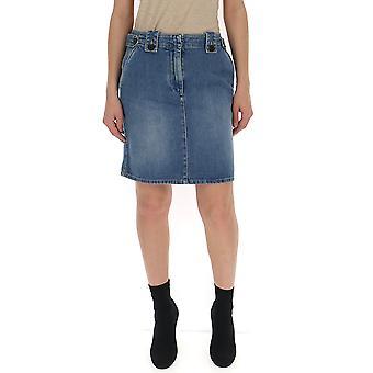 Givenchy Blue Denim Skirt