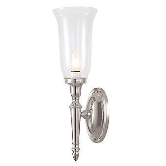 Elstead-1 lampada da parete bagno luce nichel lucido IP44-bagno/DRYDEN2 PN