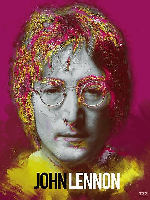 John Lennon Poster Beatles Music Art Print (18x24)