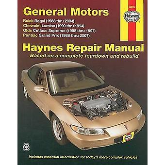 GM Buick Regal Automotive Repair Manual - 88-05 by Robert Maddox - Joh