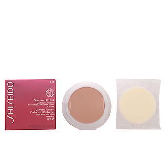 Shiseido schiere & perfekte kompakte Foundation Refill #b40-Messe Beige 10g für Frauen