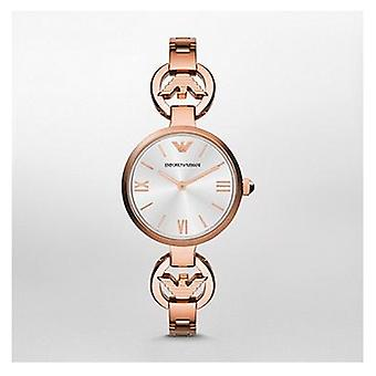 Emporio Armani Ar1773 Ladies Rose Gold Gianni T Bar Steel Watch