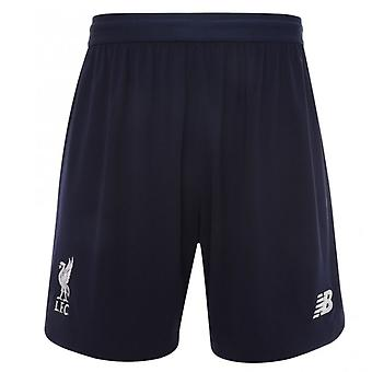 2019-2020 Liverpool Away Shorts (Navy) - Kids