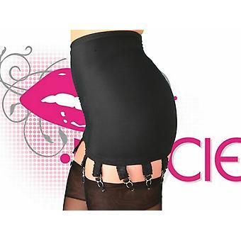 Nancies Lingerie 14 Strap Lycra Hosiery Shapewear Girdle with Garters
