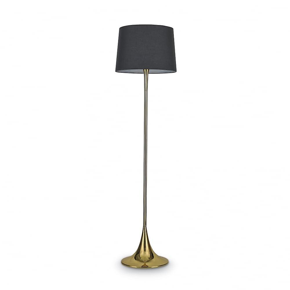 Ideal Lux London Single Post lumière Ottone