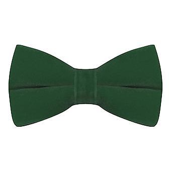 Luxury Racing Green Velvet Bow Tie