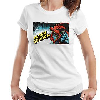 Flash Gordon Action Pose Women's T-Shirt