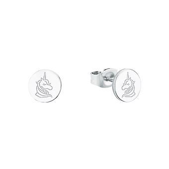 s.Oliver Jewel Kids and Teens Earrings Silver Unicorn 2026048