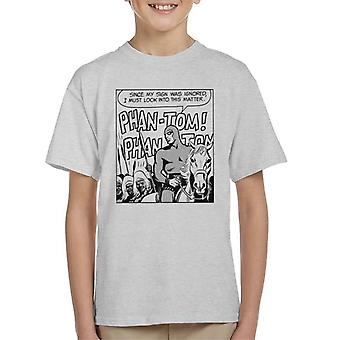 The Phantom Cheering Crowds Kid's T-Shirt