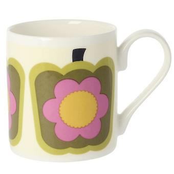 Orla Kiely Pepper Olive Bone China Mug