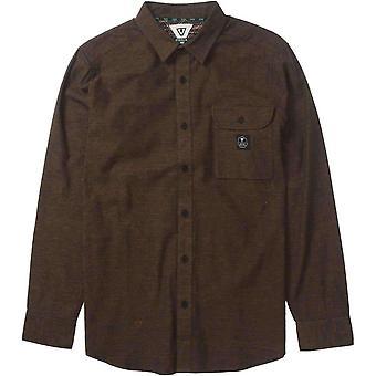 Vissla sea weed flannel shirt - java