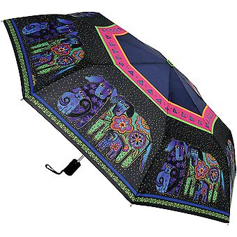 Laurel Burch Compact Umbrella 42