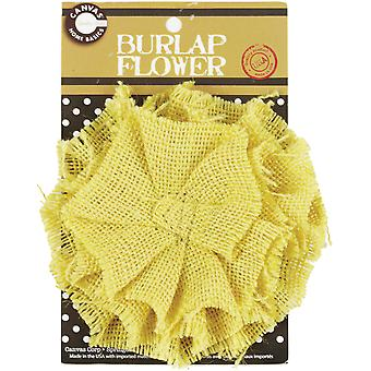 Burlap Flower Wheat Burflwr 2593