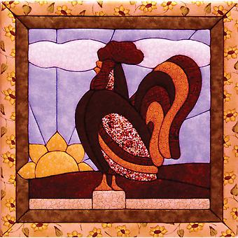 Rooster Quilt Magic Kit 12