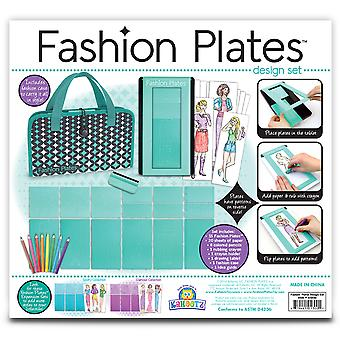 Fashion Plates Deluxe Kit 1300
