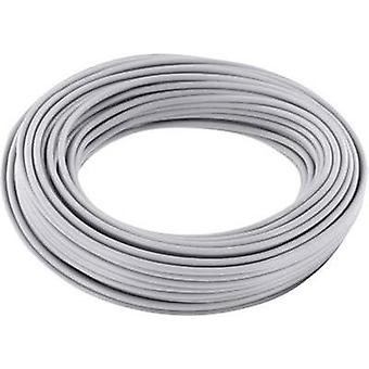 Jumper wire 1 x 0.2 mm² Grey BELI-BECO D 105/10 grigio 10 m