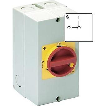 Disconnector lockable 32 A 1 x 90 ° Red, Yellow Kraus & Naimer KG32B T206/40 KL11V 1 pc(s)