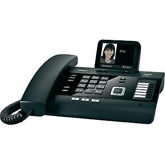Corded analogue Gigaset DL500 A Answerphone Colour Black