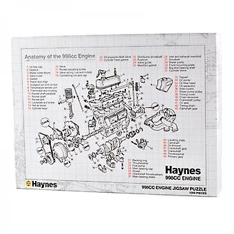 Haynes Classic Mini 998cc Car Engine 1000pcs Jigsaw Puzzle in Gift Box