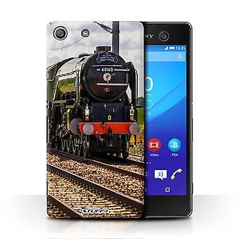 STUFF4 Case/Cover for Sony Xperia M5/Tornado/Steam Locomotive