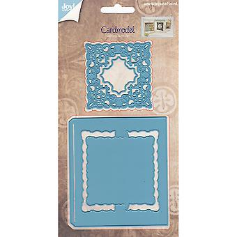 Joy! Crafts Cutting Die-Card Model Square Chic Stencil JC20555
