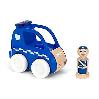 BRIO Light & Sound Police Car 30377