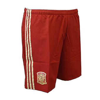 2014-15 Spain Home Football Shorts (Player Version)
