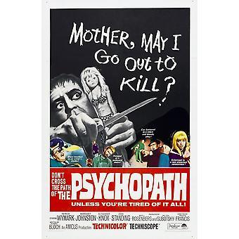 Lo psicopatico noi Poster 1966 Movie Poster stampa di alta qualità