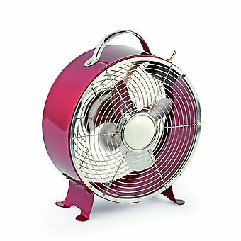 Desk Fan Triton Red by Faro