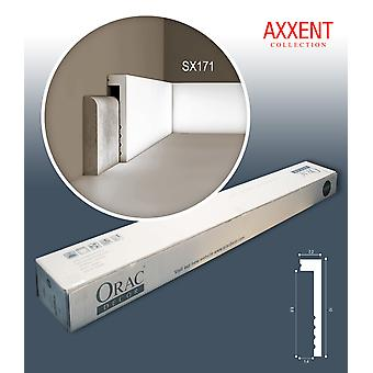 ORAC decor SX171 AXXENT 1 box SET with 20 skirtings mouldings | 40 m