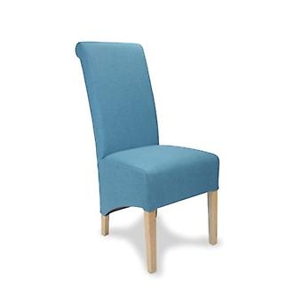 Dora Oak And Upholstery Designed Chair - Color Selection - Fully Assembled