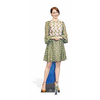 Emma Stone Celebrity Lifesize Cardboard Cutout / Standee / Stand Up
