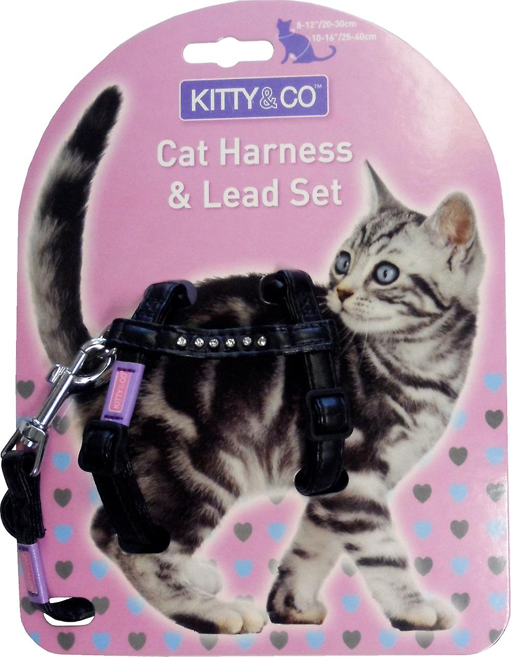 Kitten harness and lead set