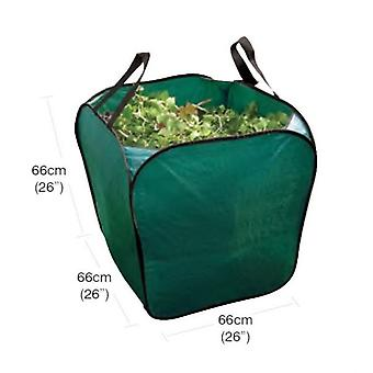 Large Free Standing Garden Bag Waste, Rubbish, Leaves, Grass Foldable