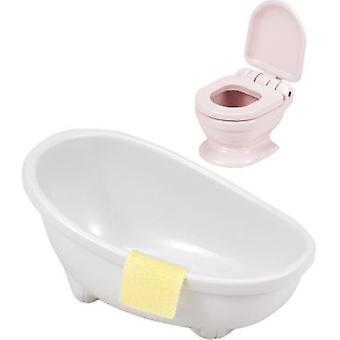 Sylvanian Families September tub and toilet