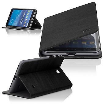 Slim Angle cover case for Samsung Galaxy Tab 4 T230 (7 inch) - Black