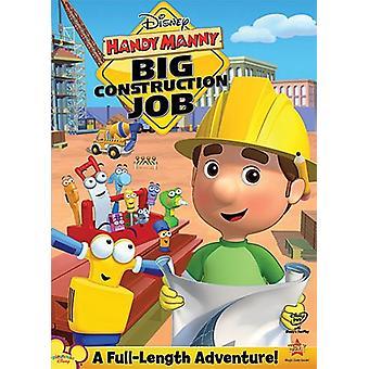 Handy Manny - Big Construction Job [DVD] USA import