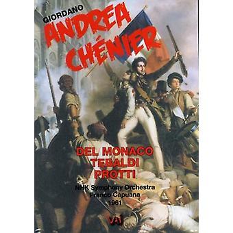 U. Giordano - Giordano: Andrea Ch Nier [DVD Video] [DVD] USA import
