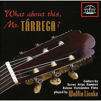 Milan/Bach/Albeniz/Tarrega/Brouwer/Villa-Lobos/Pia - hvad med dette, Mr. T Rrega? [CD] USA import