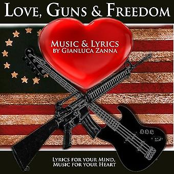 Gianluca Zanna - Love Guns & Freiheit [CD] USA import