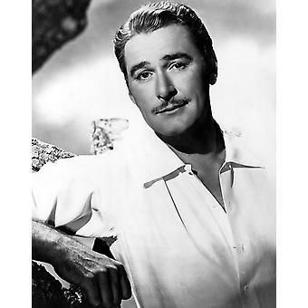 Impressão de foto de Errol Flynn Warner Brothers de 1940