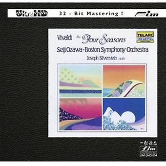 Seiji Ozawa & Boston Symphony Orchestra - Vivaldi: The Four Seasons [CD] USA import