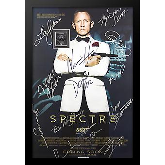 James Bond Spectre - Signed Movie Poster