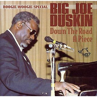 Big Joe Duskin - ned ad vejen et stykke [CD] USA import