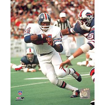 Floyd Little Action Photo Print